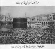 Sholat Jumat waktu Haji th 1325H